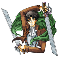 Rivaille by RavenTears