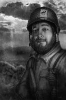 Band of brothers - kris by RavenseyeTravisLacey