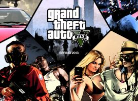 My GTA V Wallpaper by Postmortacum