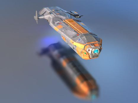 Hiigaran Ion Cannon Frigate by skywalkerpl
