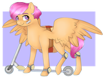 Scootaloo. by sofilut