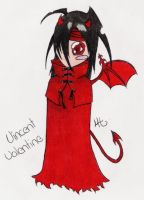 Chibi Vincent Valentine by Gaaraterra
