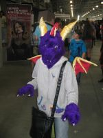 Spyro the Dragon cosplay by ray-dnt