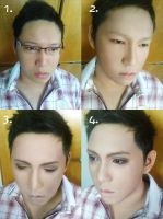 I do my brother's makeup by mollyeberwein