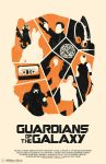 Guardians Of The Galaxy poster by billpyle