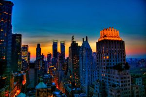 New York HDR 03 - print by delobbo