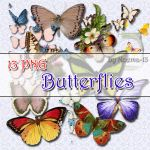 13 PNG - Butterflies by noema-13