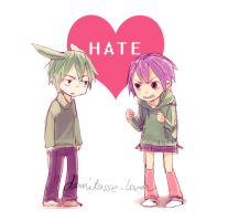 love is HATE by demitasse-lover