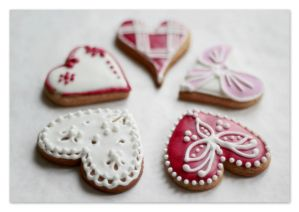 183 - Valentine cookies... by AnnaMagdalenaPe