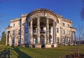 Vanderbilt Mansion Rear View by E-Davila-Photography