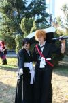 Bleach Rukia And Ichigo by Kawaragi-Shuran