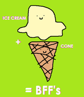 ice cream cone by 0ketchup-freak0