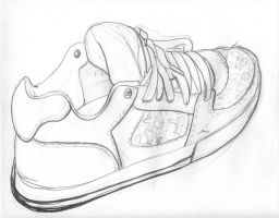 Shoe Study 2 by NevynS