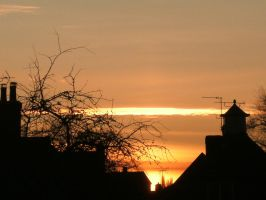 Canterbury Sunset by RicGrayDesign
