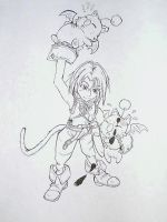 Zidane with mogs by Milknoodles