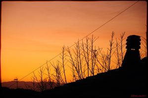 Sunset at home 5 by AthosLuca