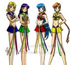 Senshi Elements by PhiMouse