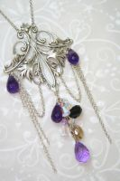 Gothic Dream Necklace by beeyeeflo