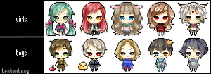 Chibi Icons [Batch #2] ANIMATED by Miivei