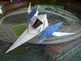 Resubmission: Origami Arwing by Serayu