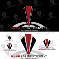 Savage Ear Entertainment Logo by fireproofgfx