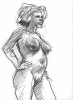 more nude life drawing by deafmusic