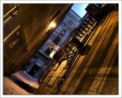 Montreal at Night 8 by Pathethic