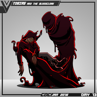 CDC DAY 13 - Tobias and the Bloodcloak by VexusVersion
