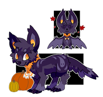 Halloween monster dog AUCTION! by Pand-ASS