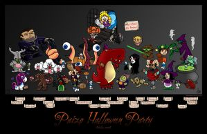 Paizo Halloween Party by butterfrog