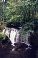 Waterfall 1 by JensStockCollection