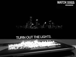 Turn Out The Lights Wallpaper by Krysalid