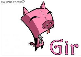 Gir is a Pig by bluezircon-graphics
