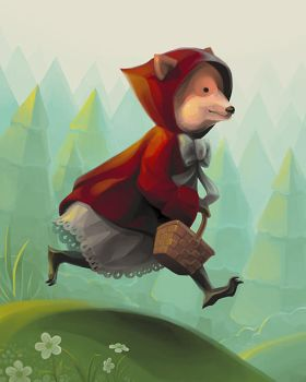 Little Red Riding Hood by zipple