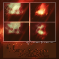 4 Large Textures by ofthespectrum