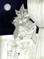 Together under the moonlight by floraiji30