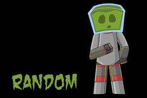 Minecraft Character 15- RandomBrawler by Ardwick