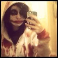 Jeff the Killer cosplay by fluttershyisluv