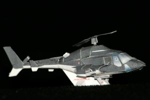 Mini Airwolf paper model 1 by ThunderChildFTC