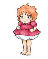 Ponyo by squidelise