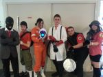 Team Fortress meets Chell by Naelia12