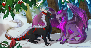 PC - Winter forest by Jay-Kuro