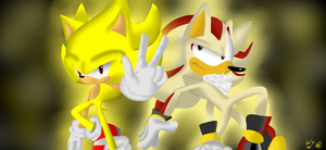 Collab: Super Hedgehogs by SilverSonic44