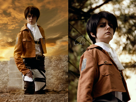 Cosplay: Levi by Abletodoall
