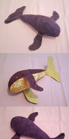 Violet whale by Zifriel