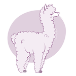 Llama Mascot Commission by Ogrefairy