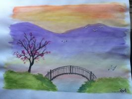 Watercolor Practice (2) by OneForeverMore