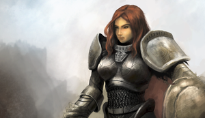 Paladin girl crop by atma33