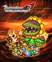 SMBGT - Firey Petey Piranha Story Arc Poster by KingAsylus91