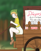 Diaper kingdom Law by TamaeFTT